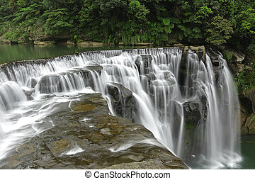台湾, 滝, shifen