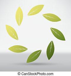 叶子, 图标