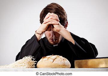 司祭, ある, 祈ること