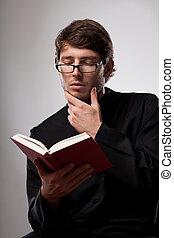 司祭, ある, 読書