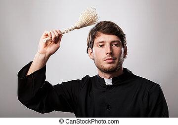 司祭, スプリンクラー