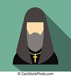 司祭, ロシアのアイコン, キリスト教徒, 平ら