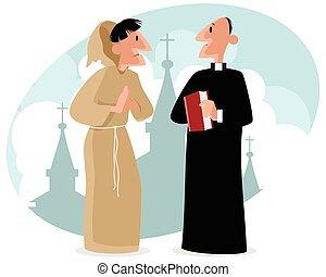 司祭, 修道士