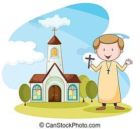 司祭, 教会