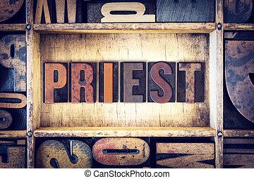 司祭, 概念, タイプ, 凸版印刷