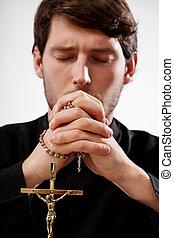 司祭, 祈ること, ロザリオ
