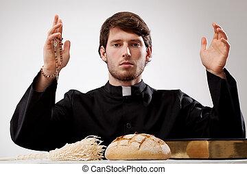 司祭, 若い