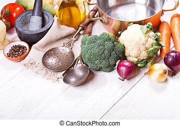 各種各樣, 烹調, 產品, 平鍋, 空