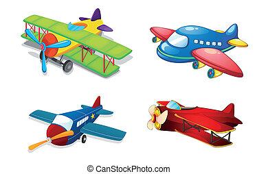 各種各樣, 空氣, 飛機