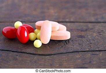 各種各樣, 藥丸