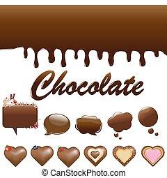 各種組み合わせ, チョコレート