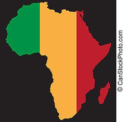 合併した, アフリカ
