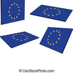 合併フラグ, (eu), 3d, ヨーロッパ