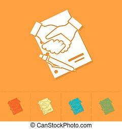 合意, 財政, 握手