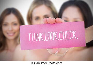 合成的影像, 意識, 乳腺癌