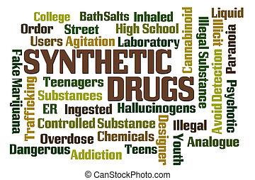 合成, 药物