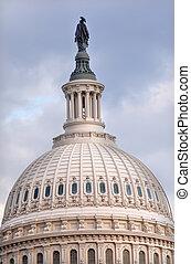 合衆国州議事堂, ドーム, 自由の彫像, washington d.c.