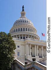 合衆国州議事堂, 建物, 中に, washington d.c.