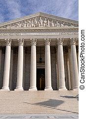 合衆国最高裁判所, 建物, 中に, washington d.c.