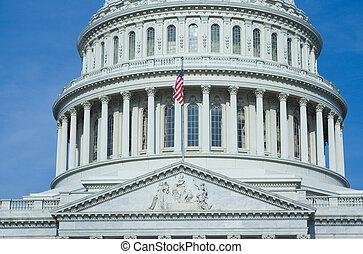 合衆国資本, 建物
