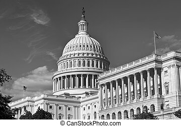 合衆国資本, 建物。