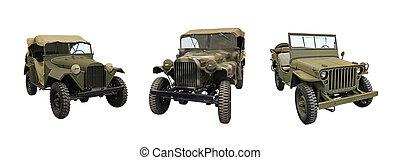 吉普车, 第一流, 军队
