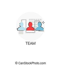同僚, ビジネス, チームワーク, 人間, チーム, resouces, アイコン
