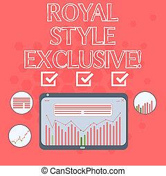 君主, スタイル, ファッション, 写真, 組合せ, タブレット, コラム, テキスト, 提示, グラフィック, 皇族...