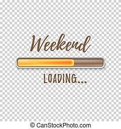 周末, 裝貨, bar.