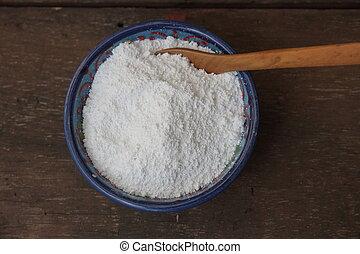呼ばれる, kaolin, 自然, 白, 準備, 粘土, プロダクト