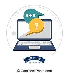呼出し, コンピュータ技術, 中心, コミュニケーション
