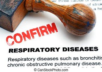 呼吸, 疾病