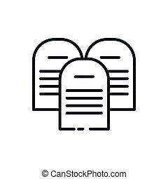 命令, カトリック教, デザイン, シンボル, キリスト教徒, ベクトル