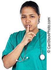 命令, 沈黙, 医者