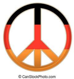 和平, 矢量, 插圖