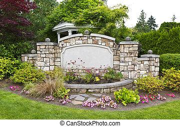 和平, 花园