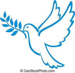 和平, 鸽