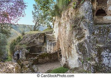 和解, zungri, カラブリア, 洞穴