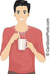 咖啡, 人