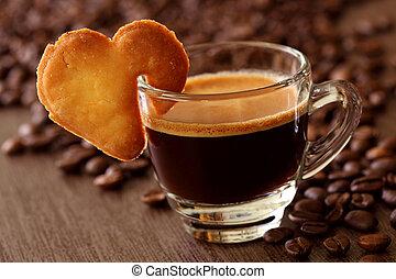 咖啡, 浓咖啡