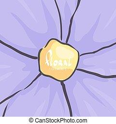 咲いている花, クローズアップ