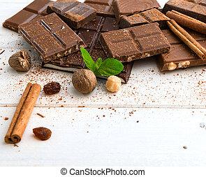 品種, ......的, 巧克力