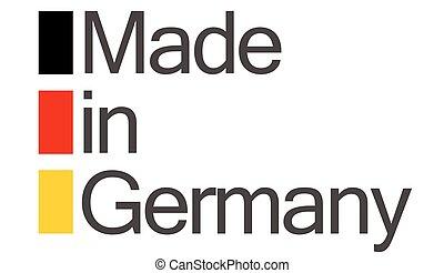 品質, 作られた, ドイツ, シール
