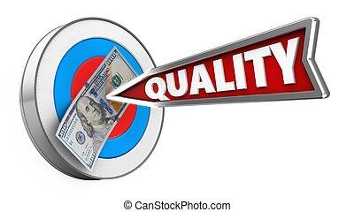 品質, 矢, 3d