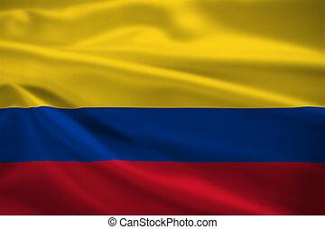 哥倫比亞旗, 吹乘風