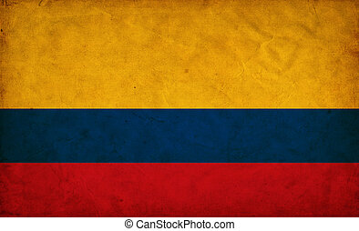 哥倫比亞, grunge, 旗