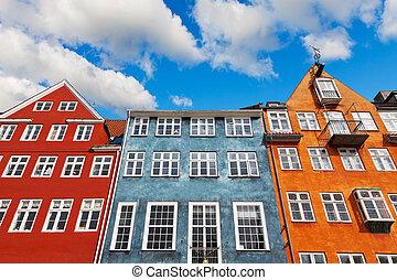 哥本哈根, 老, 建築學