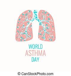 哮喘, 意識, 海報