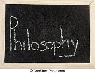 哲学, 板