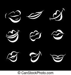 唇, コレクション